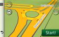 Sensul giratoriu de la Pasajul Stefanesti pe DNCB in RO.A.D.2015.20 pe Nuvi 3790