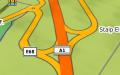 Nodul Ilia pe A1 in RO.A.D.2016.32 pe Nuvi 3790